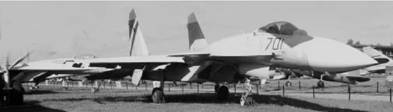 Прототип истребителя Су-35 (Т-10М). Фото Геннадий Шубин