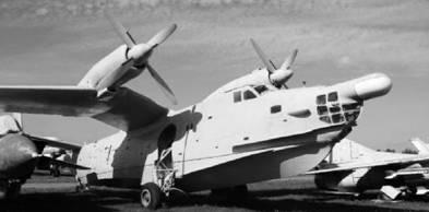 Самолёт-амфибия Бе-12. Фото Геннадий Шубин