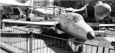 Чехословацкий учебно-тренировочный самолёт L 29 Дельфин ВВС СССР Фото Виктор Лызлов