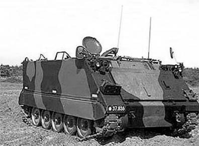 Американский гусеничный бронетранспортёр М113. Фото из сети Интернет