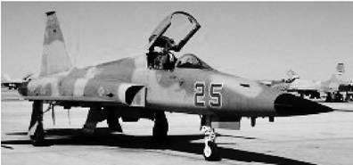 Истребитель Ф-5 американского производства. Фото из сети Интернет