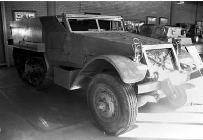Американский бронетранспортёр М9А1 (M9A1). Фото Геннадий Шубин