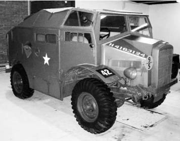 Morris Commercial C8. Английский тягач времён Второй мировой войны. Фото Геннадий Шубин