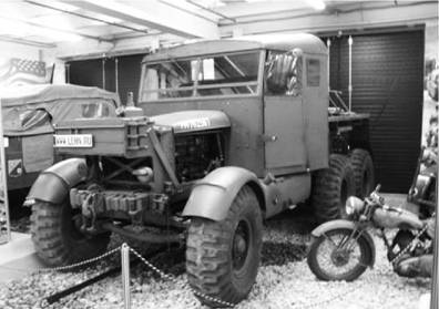 Scammell Pioneer SV 2S, эвакуатор танков английского производства. Фото Геннадий Шубин