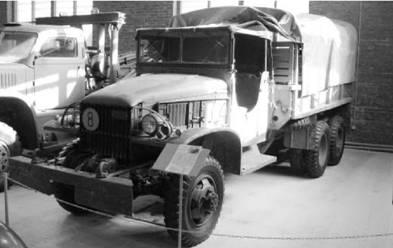 Американский грузовик GMC 2.5 t. Джимми (самый массовый за время Второй мировой войны, было выпущено 653 000 в 1939–1944гг). Фото Геннадий Шубин