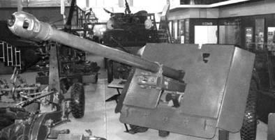 Семнадцатифунтовка (17 ponder) английского производства калибра 76 мм. Фото Геннадий Шубин