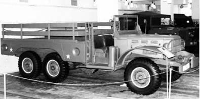Грузовик Dodge WC 63 американского производства. Фото Геннадий Шубин