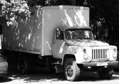 ГАЗ-52. Возможно использовался в Африке. Фото Геннадий Шубин