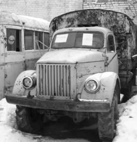 ГАЗ -63 (вариант ГАЗ -51 со всеми ведущими колёсами). Фото ГеннадийШубин