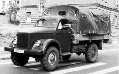 ГАЗ-63. Фото Геннадий Шубин