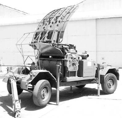 Радар Грин Арчер. Фото Ян Либенберг