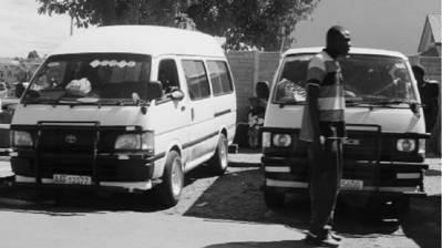 Маршрутки Тойота Хайс. Зимбабве. Фото Елена Харитонова