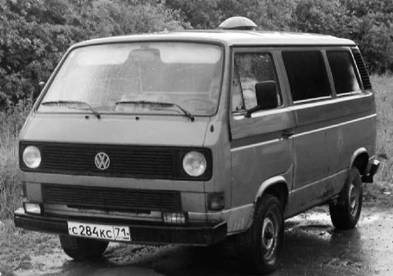 Фольксваген Т-3 (Транспортер 3) микроавтобус. Фото Геннадий Шубин