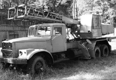 КРАЗ-255 Кран (КРАЗ-257). Фото Геннадий Шубин