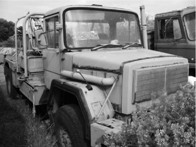 Самил-50 (тягач для эвакуации техники). Фото Геннадий Шубин