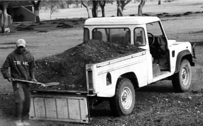 Лендровер 88. Намибия. Фото Елена Харитонова