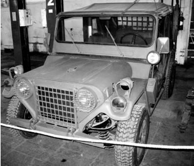 Джип M151A2 американского производства. Фото Геннадий Шубин