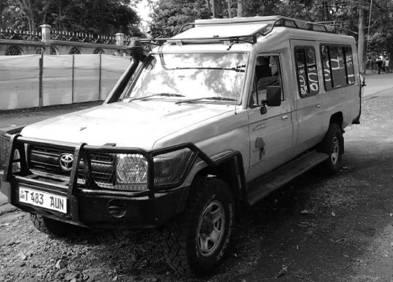 Тойота Лендкрузер. Танзания. Фото Альберт Хаматшин