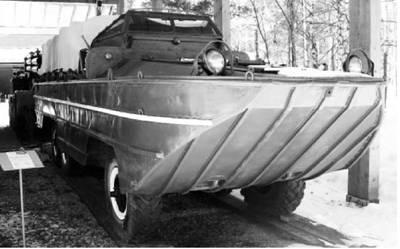 ЗИС-485. Большой автомобиль водоплавающий. Фото Геннадий Шубин
