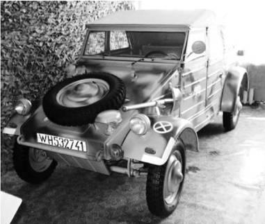 Кубельваген Тип 82 производства Фашисткой Германии. Возможно применялся в Африке с 1954г. Фото Геннадий Шубин