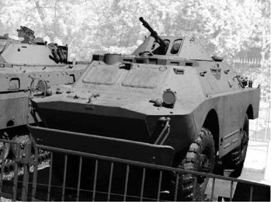 БРДМ-2. Пулемёт КПВТ калибра 14,5 мм (14,5x114 мм). Фото Виктор Лызлов