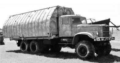 Пантоноукладчик ПМП на шасси КРАЗ-255. Фото Вячеслав Барабуля