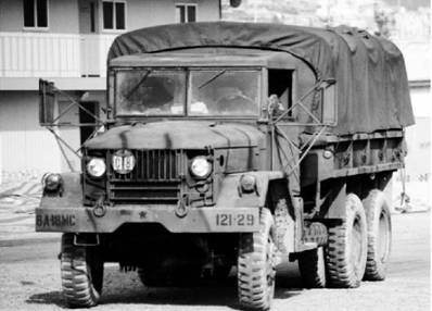 Грузовик М35 американского производства грузоподъёмностью в 2,5 тонны. Фото из сети Интернет