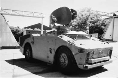 Южноафриканская мобильная система ПВО Кактус (Cactus) (радарная установка). Фото Ян Либенберг