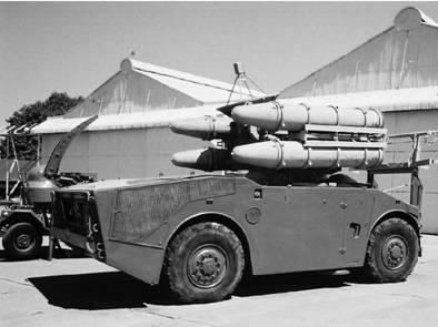 Южноафриканская мобильная система ПВО Кактус (Cactus) (ракетная установка). Фото Ян Либенберг