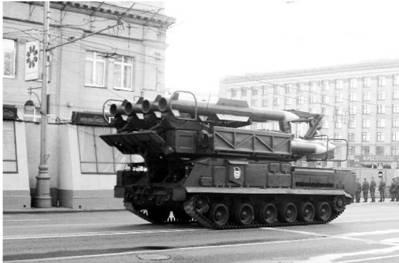 Мобильная установка ПВО Бук-М2. Фото Геннадий Шубин