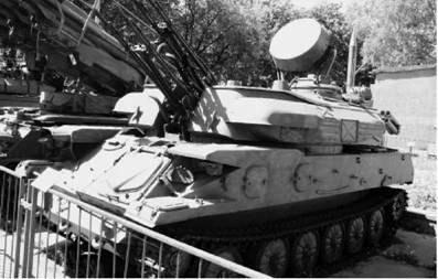 Шилка (ЗСУ-23-4) калибра 23 мм. Фото Виктор Лызлов