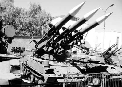 Самоходный ракетный комплекс ПВО Куб. Фото Виктор Лызлов