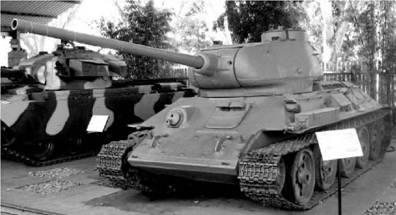 T-34 (T-34-85). Пушка калибра 85 мм. Фото Геннадий Шубин