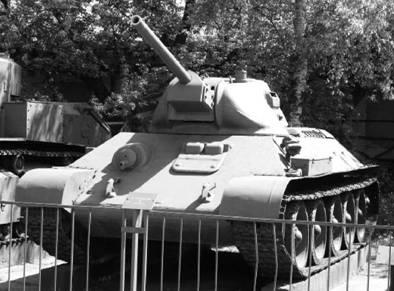 T-34-76. Пушка калибра 76 мм. Фото Виктор Лызлов