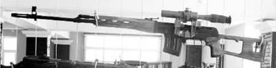 Снайперская винтовка Драгунова (СВД) калибра 7,62 мм (патрон 7,62x54 мм). Фото Геннадий Шубин