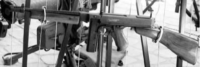 Автомат Томпсон калибра 11,43 мм (11,34х23 мм) американского производства. Фото Геннадий Шубин