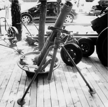 120 мм полковой миномет образца 1943г. Фото Геннадий Шубин