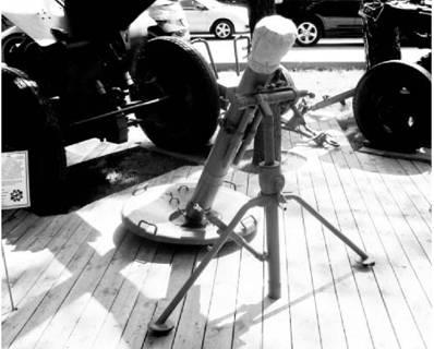 120 мм миномет 2С12 Сани. Фото Геннадий Шубин