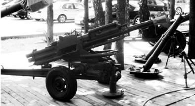 82-мм автоматический миномет 2Б9 Василёк. Фото Геннадий Шубин