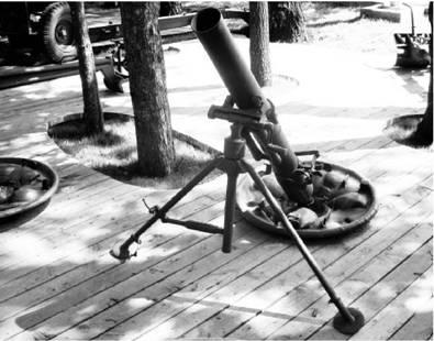 120-мм полковой миномет образца1938г. Фото Геннадий Шубин