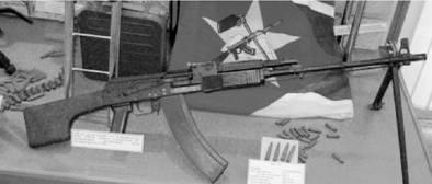 Автомат РПК-74 калибра 5,45 мм (патрон 5,45x39 мм). Фото ГеннадийШубин