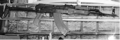 Автомат АКМС (7,62х39 мм). Фото Геннадий Шубин