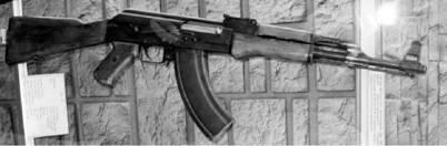 Автоматы АК (АК-47) калибра 7,62 мм (патрон 7,62x39 мм). Фото Геннадий Шубин