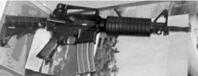 Американская штурмовая винтовка M-4 калибра 5,56 мм (патрон 5,56x45 мм). Фото Геннадий Шубин