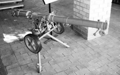 Безоткатное орудие Б-10 калибра 82 мм. Фото Геннадий Шубин