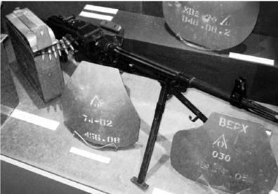 ПК (пулемёт Калашникова образца 1961г.) калибра 7,62 мм (патрон 7,62x54 мм). Фото Геннадий Шубин