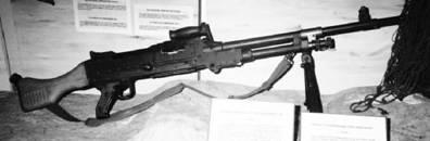 Бельгийский пулемёт ФН МАГ армии ЮАР патрон 7,62 мм (патрон 7,62х51 мм). Фото Ян Либенберг