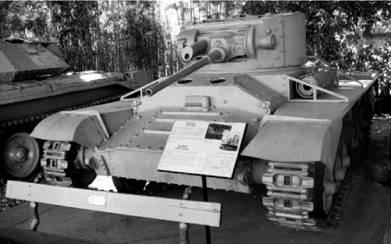 Английский танк Валентайн. Пушка калибра 40 мм. Фото Геннадий Шубин
