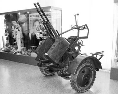 ЗПУ-2 калибра 14,5 мм (патрон 14,5x114 мм). Фото Геннадий Шубин