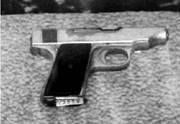 Немецкий пистолет Ортгис калибра 7,65 мм. Фото Геннадий Шубин